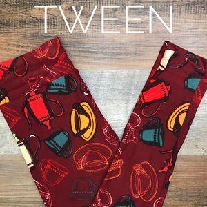 LULAROE TWEEN LEGGINGS - BRAND NEW